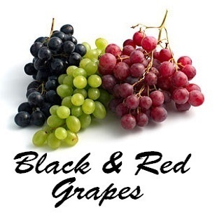 Black & Red Grapes